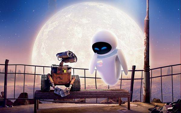 Top Movie Post as Wallpaper, Wall-E, Silence Can be the Best Language in Love