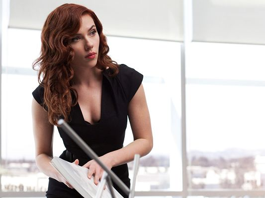 Top Movies Poster, Natasha Romanoff in Iron Man 2, Beautiful Office Lady