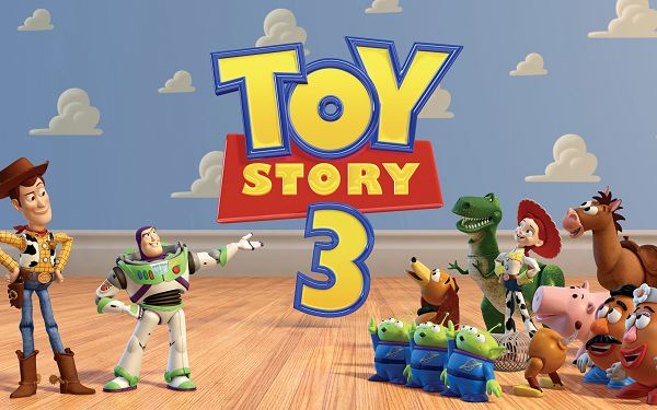 click to free download the wallpaper--Toy Story 3 Post in 2560x1600 Pixel, All Cute and Live Toys, Large and Fun Enough to be a Great Fit - TV & Movies Post