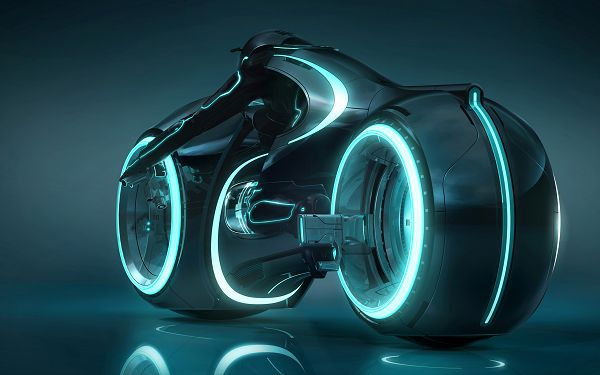 Tron Light Cycle Post in 2560x1600 Pixel, a Lighted up Motor, It Shall Greatly Improve the Outlook of Your Device - TV & Movies Post