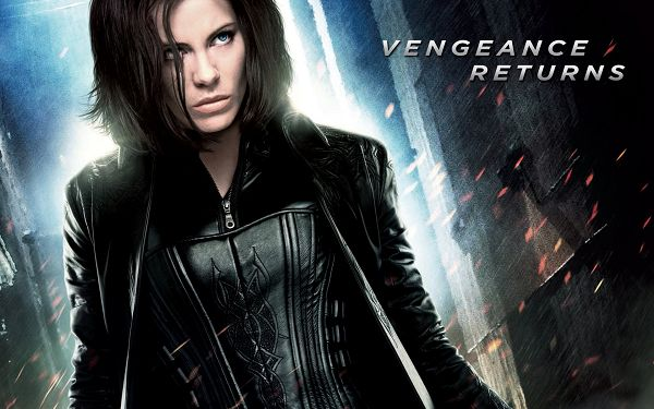click to free download the wallpaper--Underworld Awakening Kate Beckinsale in 1920x1200 Pixel, a Tough and Determined Lady with Guns, Keep Away from Him - TV & Movies Wallpaper