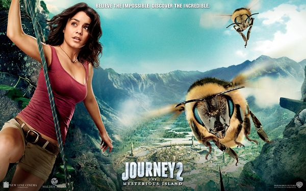 click to free download the wallpaper--Vanessa Hudgens in Journey Mysterious Island in 1920x1200 Pixel, You Have Got to Hurry up to Survive - TV & Movies Wallpaper