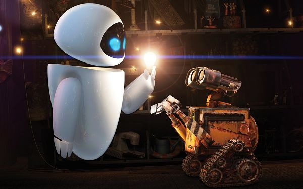 click to free download the wallpaper--WALL E and EVE Post in 1920x1200 Pixel, EVE is Cold and Emotionless, Will the Former Her be Back? - TV & Movies Post