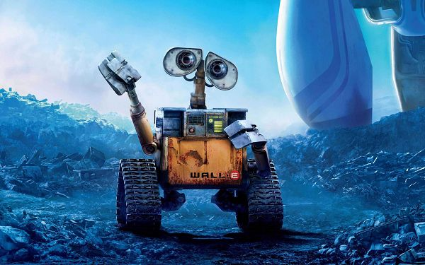 click to free download the wallpaper--WALL E in 2560x1600 Pixel, Lonely Little Robot with Human Emotions, It Touches the Bottom of People's Heart - TV & Movies Wallpaper