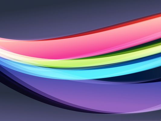 click to free download the wallpaper--Wallpaper Desktop Computer - Abstract Colorful Flag, Shall Fit Various Devices