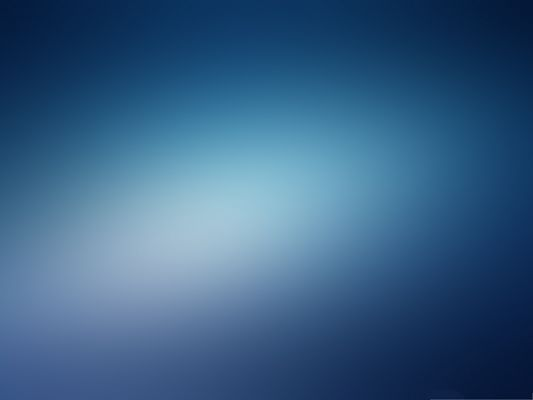 click to free download the wallpaper--Wallpaper for Computer - Blurry Blue Background, the Beauty of Simplicity