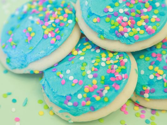 Wallpaper for Widescreen, Soft and Sweet Sugar Cookies, Try One?
