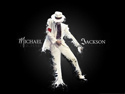Wallpaper for the Computer, Michael Jackson's Dance, Is He Going to Melt?