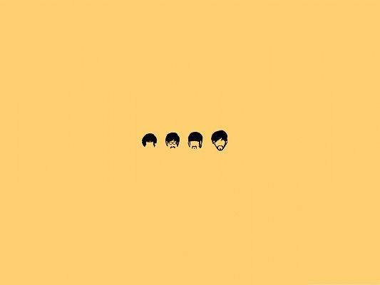 Wallpapers For Computer Free The Beatles Cartoon Easy