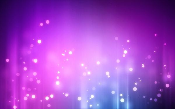 White Spots in Different Sizes, Background is Purple, is Overall Decent and Beautiful - HD Apple Widescreen Wallpaper
