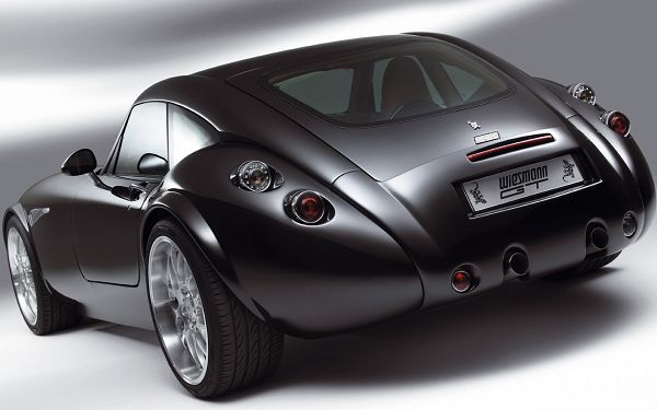 click to free download the wallpaper--Wiesmann GT Car Wallpaper, Super Car from Rear Look, Smooth Lines and Great Look