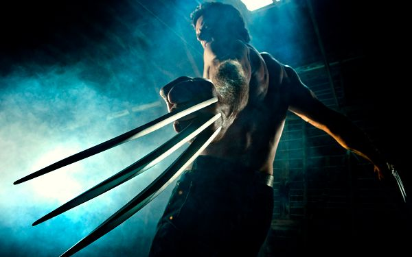 click to free download the wallpaper--Wolverine Post in 2560x1600 Pixel, the Strong and Muscular Man Half Naked, Unwise to Fight Against - TV & Movies Post