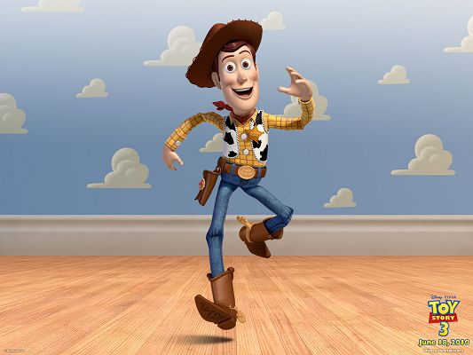click to free download the wallpaper--Woody Post in Toy Story 3 in 1600x1200 Pixel, a Happy and Optimistic Man in the Run, a Fit for Multiple Devices - TV & Movies Post