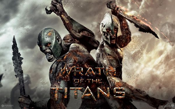 click to free download the wallpaper--Wrath of the Titans Movie in 1920x1200 Pixel, Men in Their Own Weapons, Monster-Like, Shall Add Toughness to Your Device - TV & Movies Wallpaper