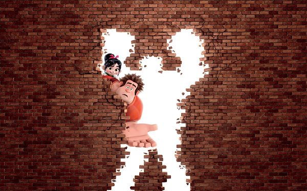 Wreck It Ralph Animation in High Resolution: 3200x2000, Leaving a Big Hole on the Wall, Who Passed By? Shall Bring Laughter to Everyone - TV & Movies Wallpaper
