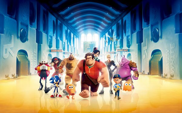 click to free download the wallpaper--Wreck It Ralph in 3200x2000 Pixel, the Group of Cartoon Characters Are Hard to Beat, and Facial Expression Differ, Shall Look Good on Digital Devices - TV & Movies Wallpaper