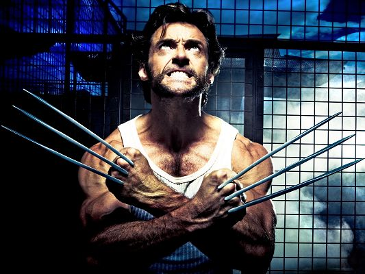 XMEN Origins Wolverine Post in 1600x1200 Pixel, a Strong and Muscular Man, He is Hard to Believe, Will Soon be Out of Here - TV & Movies Post