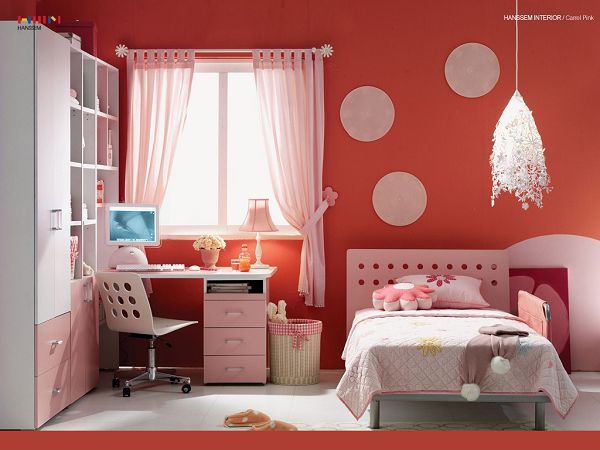 Beautiful Wallpaper: A Pink Room For Your Girl