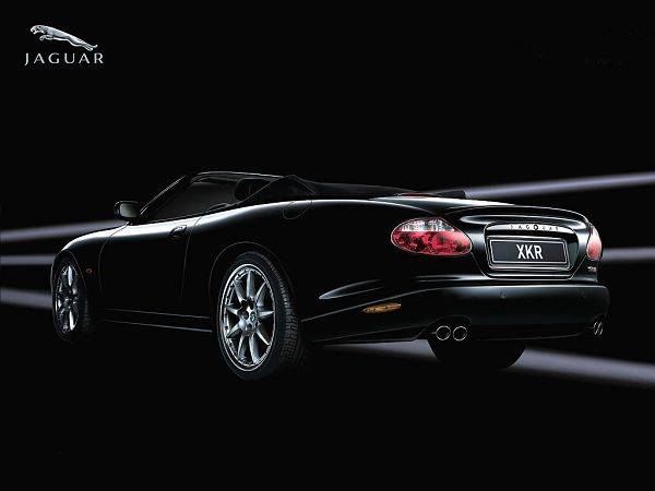 free wallpaper of Beautiful Fast Cars -  Jaguar XKR  ,click to download