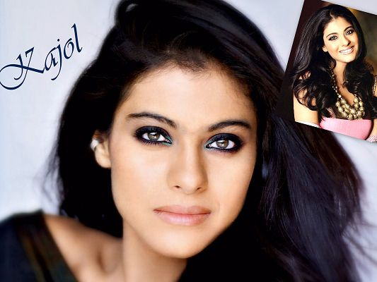 Free Wallpaper Of Indian Actress - Kajol