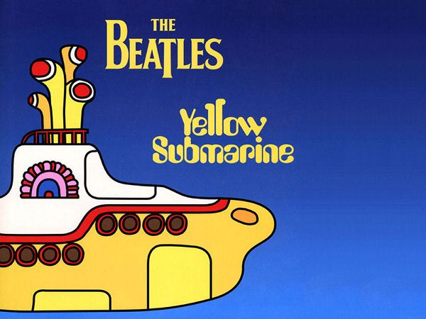 free wallpaper of The Beatles Yellow Submarine Adventure    ,click to download