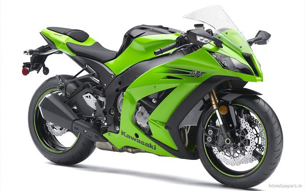 free wallpaper of motorcycle for road racing:Kawasaki Ninja ZX10R ,click to download