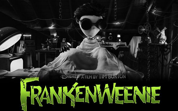 free wallpaper of movie poster: FRAZNKENWEENIE ,click to download