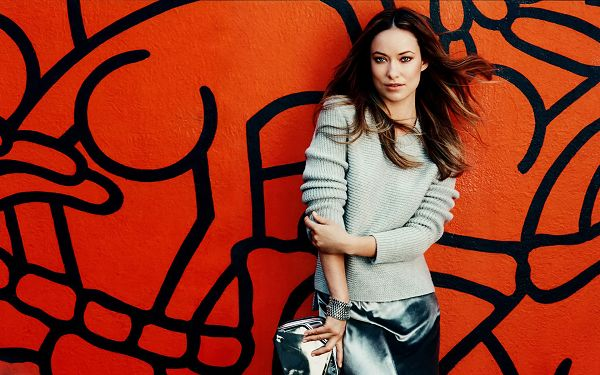 free wallpaper of star-Olivia Wilde,click to download