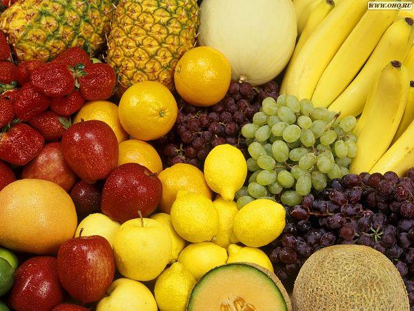 Free Wallpaper: Various Fruits