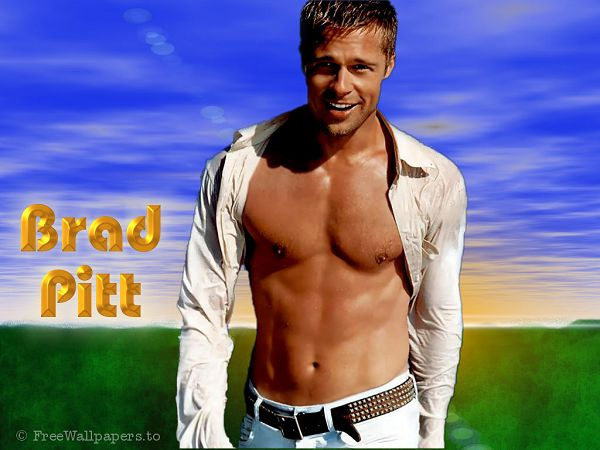 free wallppaer: matinee idol - Brad Pitt  ,click to download