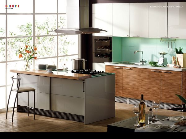 free wallppaer of Open mode kitchen design   ,click to download