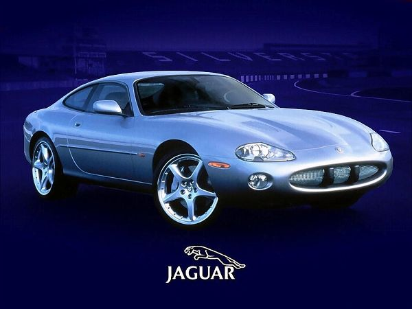 High Quality Wallpaper - A Light Blue Jaguar