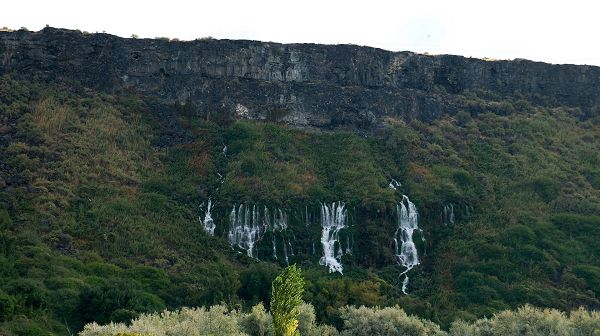 images of nature - Tall Hills Full of Waterfall, a Great Bless for the Natural and Green Plants