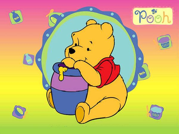 Lovely Wallpaper Of Winnie The Pooh