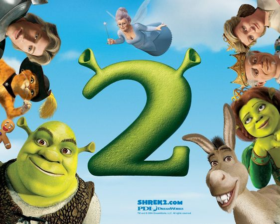 pretty wallpaper of movie SHERK 2  ,click to download