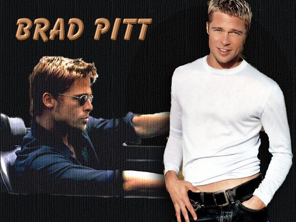 the famous star in Hollywood - Brad Pitt ,click to download