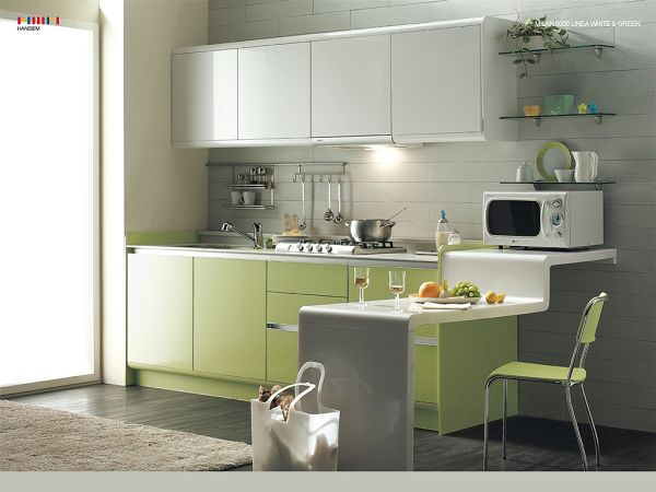 wallpaper of a Simple and practical kitchen design   ,click to download