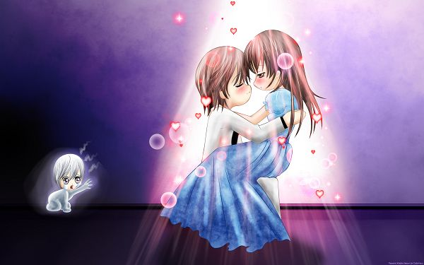 Wallpaper Of Beautiful Comic: Vampire Knight