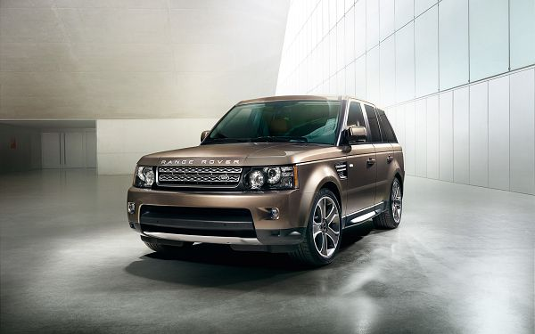 wallpaper of car: another kind of land rover - Range Rover Sport ,click to download