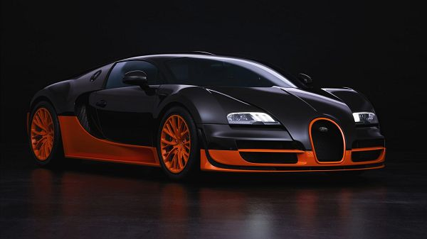 wallpaper of car: the most expensive sports car -  Bugatti Veyron  ,click to download