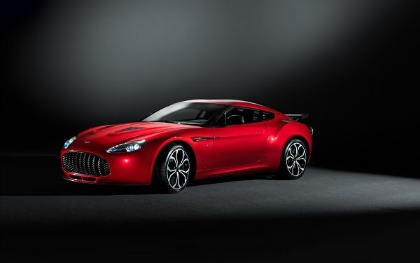 Wallpaper Of Car: The Most Wonderful Kind - Aston Martin V12 Zagato