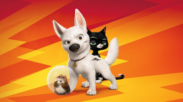 Wallpaper Of Movie Poster:  Bolt Movie