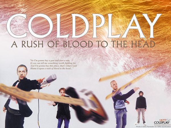 Wallpaper Of The Popular Band In British - Coldplay