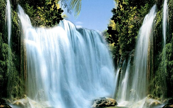Wonderful Scenery Wallpaper: Venezuela AnHeEr Falls