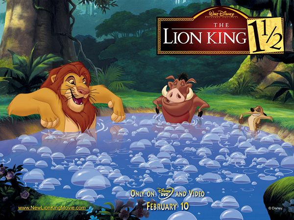 Wonderful Wallpaper: Famous Movie The Lion King