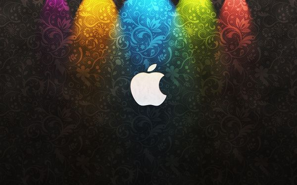 wonderful wallppaer of sharp-looking Apple logo sign ,click to download