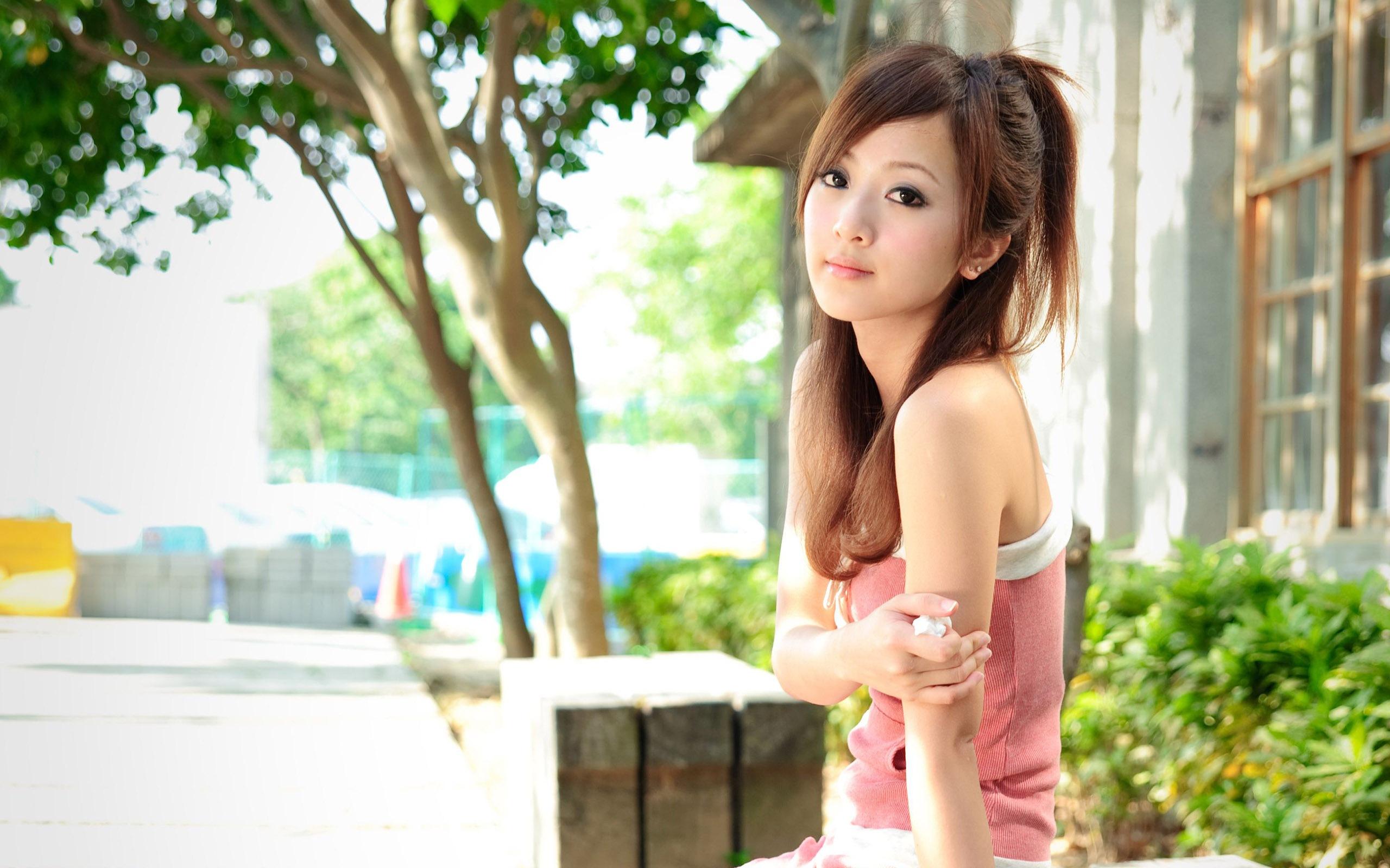 Wild japanese model
