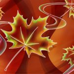 Free High Resolution 3d Computer Background Beautiful Leaf With Lines 1600*1200(10)