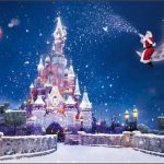 2017 Wonderful Christmas Wallpaper HD Castle with snow and Santa Claus 1920*1080 (1)