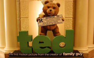 Ted Movie in 1920x1200 Pixel, the Cute Bear Being Restricted, a Motion Picture and a Great Fit - TV & Movies Wallpaper